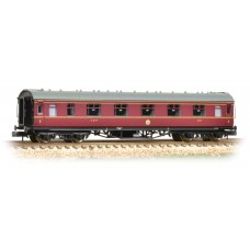 Graham Farish  374-845C - Stanier First Corridor LMS Crimson Lake