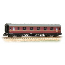 Graham Farish  374-847A - Stanier First Corridor BR Maroon