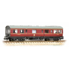 Graham Farish  374-875 - LMS 50ft Inspection Saloon LMS Lined Crimson Lake