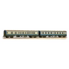 Graham Farish  374-990 - Mk1 Coach Pack 'Works Test Train' BR Blue & Grey Weathered
