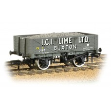 Graham Farish  377-031 - 5 Plank Wagon Steel Floor 'ICI Lime' with Load