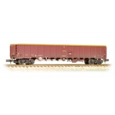 Graham Farish  377-651A - MBA Megabox Bogie Box Wagon (without Buffers) EWS Weathered