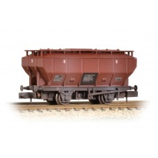 Graham Farish  377-765A - Covered Hopper Wagon BR Bauxite Weathered