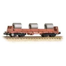 Graham Farish  377-903 - BAA Steel Carrier Wagon BR Brown with Coils