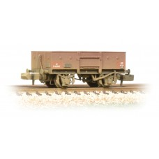 Graham Farish  377-955 - 13 Ton High Sided Steel Wagon (Chain Pockets) BR Bauxite (Early)