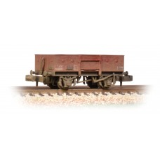 Graham Farish  377-956 - 13 Ton High Sided Steel Wagon (Chain Pockets) BR Bauxite (Late)