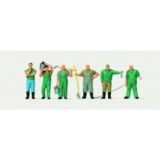 Merten 2559 Zoo Keepers 6/ HO Scale