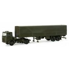 Minitanks  740050  MAN SemiTract w/Side Trlr