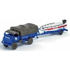 Minitanks  741767  Unimog S404 w/Boat & Trlr