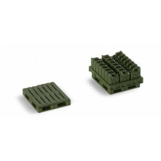 Minitanks  742108  Pallets & Jerry Cans Grmn