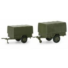 Discontinued Minitanks  742153  M101 & M105 Trlrs 2/