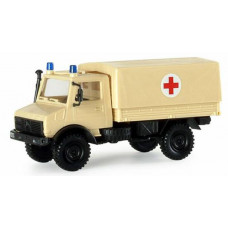 Minitanks  742535  Unimog U1300, Red Cross