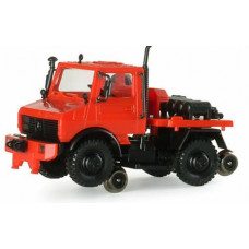 Minitanks  742597  Rail/Road Unimog FireTrk