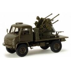 Minitanks  743082  Unimog S w/Anti Arcft Gun