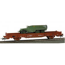 Minitanks  743433  Recon Vehicle w/RailCar