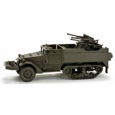 Minitanks  743686  M16 Half Track w/gun Army