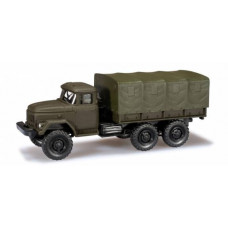 Minitanks  744355  Zil 131 Canvas Cvrd Truck