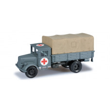 Minitanks  744737  Deutz Truck-Red Cross