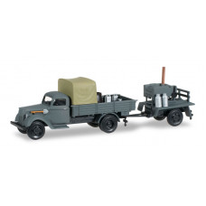 Minitanks  745185  Ford G 917 w/Load/Trailer