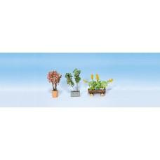 Noch  14014 - Plants In Flwr Pots #1 3/