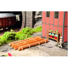 Noch  14210 - Lumber stacks Laser cut wood kit  HO