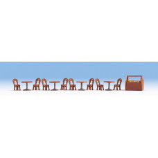 Noch  14822 - Restaurant Tables/Chairs