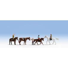 Noch  15630 - Riders w/Horses 8/