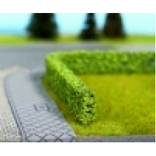 Noch  21522 - Hedge Light Grn 10x6mm