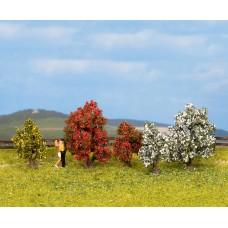 Noch  25420 - Bushes In Bloom 3-4cm 5/