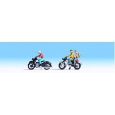 Noch  36905 - Motorcyclists w/Sidecar