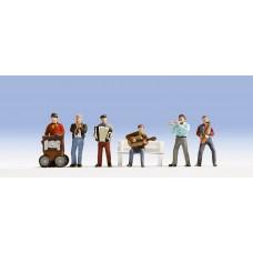 Noch  45563 - Street Musicians 6/