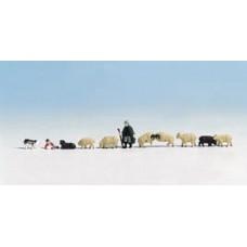 Noch  45750 - Shepherd/Dog & Sheep 11/