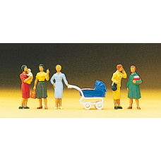Preiser 10024 - Group of Women 5/