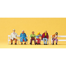 Preiser 10027 - People on benches      6/