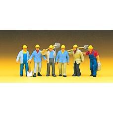Preiser 10033 - Track gang w/tools     6/