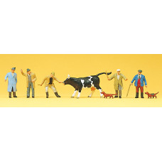 Preiser 10048 - Cattle Traders