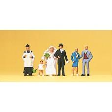 Preiser 10058 - Wedding Group Catholic 6/