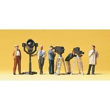 Preiser 10062 - TV/Movie Crew 5/