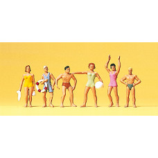 Preiser 10070 - Bathers Standing 6/