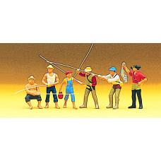 Preiser 10077 - Men fishing            6/