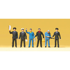 Preiser 10086 - Train crewmen          6/