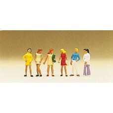 Preiser 10122 - Group of girls         6/