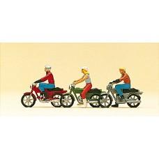 Preiser 10126 - Moped w/rider          3/