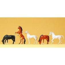 Preiser 10156 - Horses                 5/