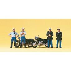 Preiser 10191 - French police w/2 motor4/