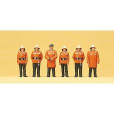 Preiser 10214 - Firemen w/protctve clthng