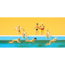 Preiser 10307 - Children at the pool