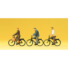 Preiser 10333 - Cyclists 3/