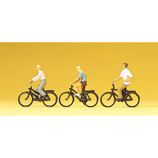 Preiser 10336 - Cyclists 3/