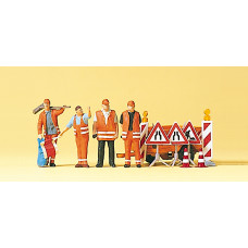 Preiser 10347 - Street repair crew     4/